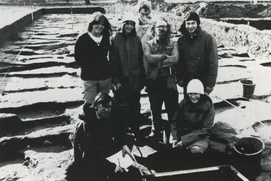 David Freke and his team