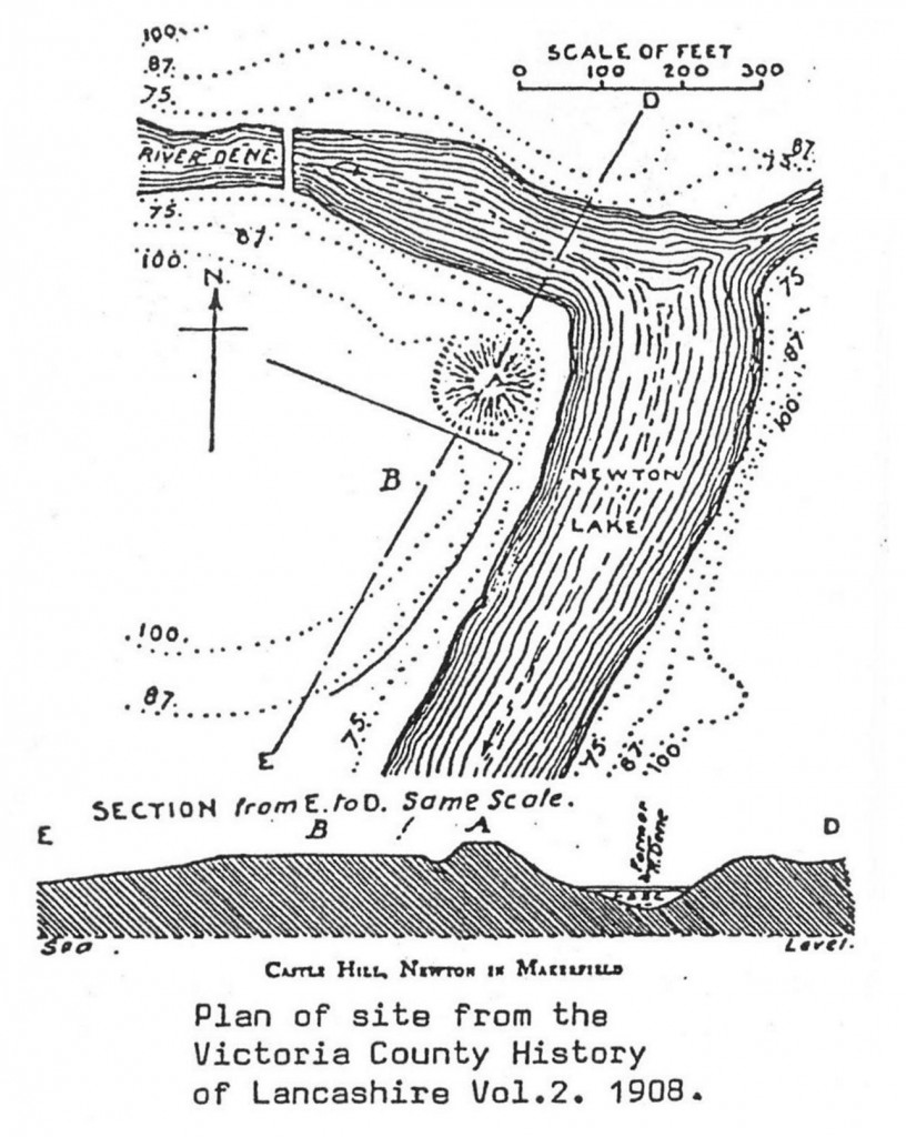 Castle Hill - Location plan of the site