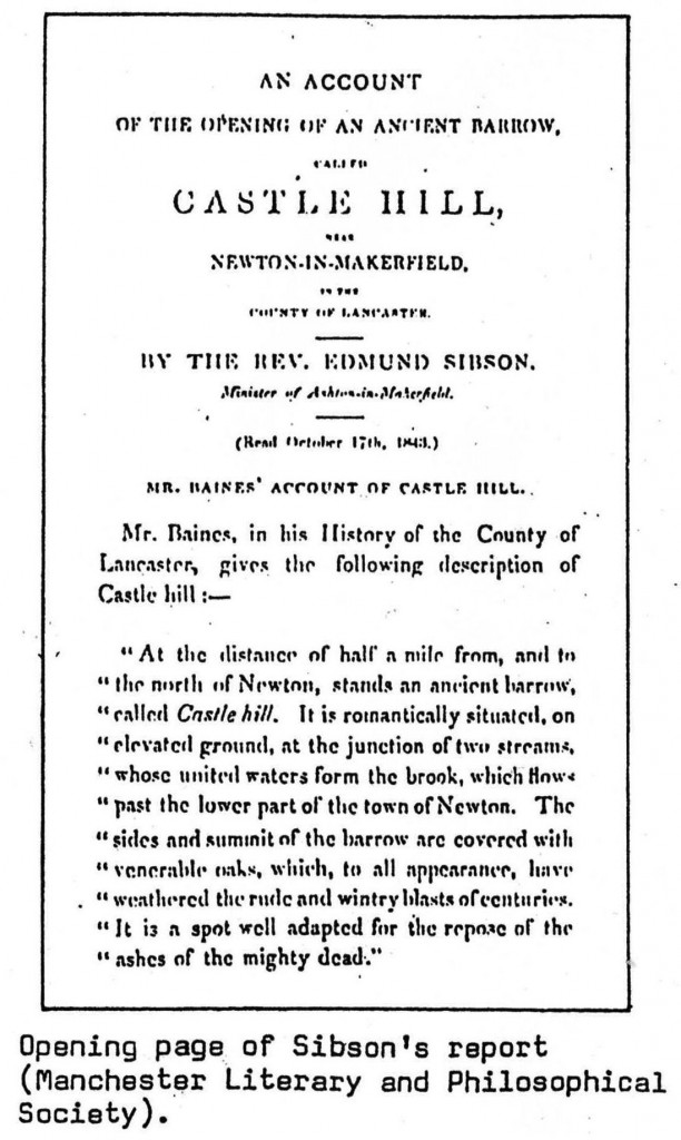 Sibson Report - Opening Page